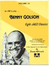 Benny Golson - Aebersold Volume 14 :Benny Golson Book/CD set