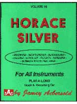 Horace Silver - Aebersold Volume 18:Horace Silver Book/CD set
