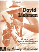 David Liebman - Aebersold Volume 19 :David Liebman Book/CD set