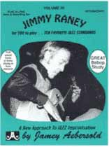 Jimmy Raney - Aebersold Volume 20 :Jimmy Raney Book/CD set