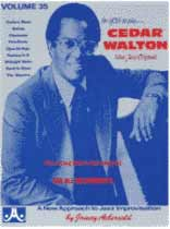 Cedar Walton - Aebersold Volume 35 :Cedar Walton Book/CD set