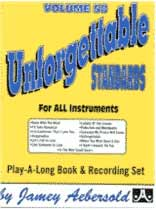 Aebersold Volume 58 :Unforgettable Book/CD set