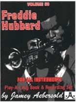 Freddie Hubbard - Aebersold Volume 60 :Freddie Hubbard Book/CD set
