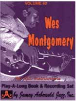 Wes Montgomery - Aebersold Volume 62 :Wes Montgomery Jazz Standards Book/CD set
