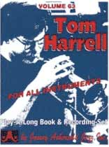 Tom Harrell - Aebersold Volume 63 :Tom Harrell Jazz Originals Book/CD set