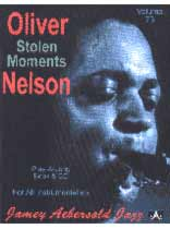 Oliver Nelson - Aebersold Volume 73 :Stolen Moments (Oliver Nelson Favorites) Book/CD set