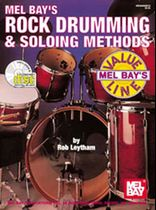 Rock Drumming & Soloing Methods Book - CD Set