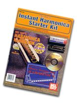 Bay - Instant Harmonica Starter Kit Book, CD and Instrument Package Book/CD set