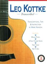 Leo Kottke - Leo Kottke Transcribed Book/CD set