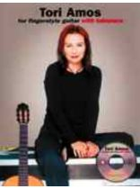 Tori Amos - Tori Amos for Fingerstyle Guitar Book/CD set