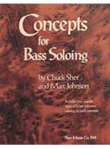 Marc Johnson - Concepts for Bass Soloing Book/CD set