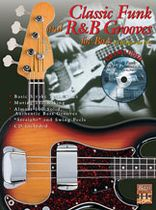 Classic Funk and R&B Grooves for Bass Book/CD set