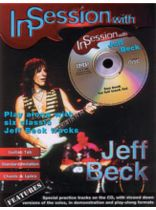 Jeff Beck - In Session with Jeff Beck - Book/CD set