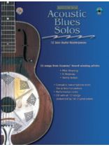 Acoustic Masterclass Series: Acoustic Blues Solos - Book/CD set