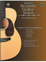 Acoustic Masterclass Series: Acoustic Guitar Solos - Book/CD set