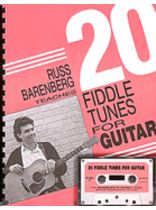 Russ Barenberg - Twenty Fiddle Tunes for Guitar 20 Cassette - Book/Tape set
