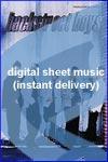 Backstreet Boys - Hey, Mr. DJ - Keep Playin' This Song - Sheet Music (Digital Download)