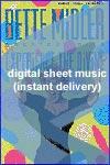 Bette Midler - The Wind Beneath My Wings - Sheet Music (Digital Download)
