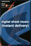 Mark Snow - Theme From the X-Files - Sheet Music (Digital Download)