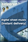 Backstreet Boys - The One - Sheet Music (Digital Download)