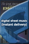Johnny Mercer - Dream - Sheet Music (Digital Download)
