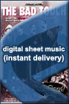 Bloodhound Gang - The Bad Touch - Sheet Music (Digital Download)