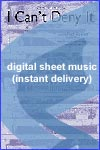 Rod Stewart - I Can't Deny It - Sheet Music (Digital Download)
