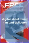Mya - Free - Sheet Music (Digital Download)