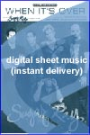 Sugar Ray - When It's Over - Sheet Music (Digital Download)