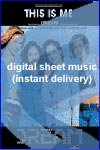 Dream - This Is Me - Sheet Music (Digital Download)