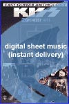 Kiss - Cold Gin - Sheet Music (Digital Download)