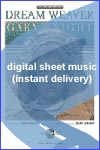 Gary Wright - Dream Weaver - Sheet Music (Digital Download)