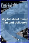 Gene Pitney - Town Without Pity - Sheet Music (Digital Download)