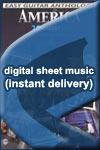 America - Cornwall Blank - Sheet Music (Digital Download)