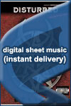 Disturbed - Bound - Sheet Music (Digital Download)