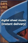 James Otto - Days of Our Lives - Sheet Music (Digital Download)