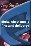 Jeff Bates - Long, Slow Kisses - Sheet Music (Digital Download)