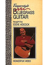 Eddie Adcock - Fingerstyle Bluegrass Guitar - Video Cassette