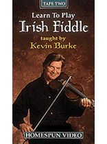 Kevin Burke - Learn To Play Irish Fiddle - Video Two: Reels, Jigs and Gavottes - Video Cassette