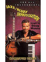 Doug Munro - Jazz/Blues Improvisation - Video Cassette