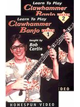 Bob Carlin - Learn To Play Clawhammer Banjo - Video Cassette