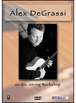Alex De Grassi - Adventures In Fingerstyle Guitar - Alex De Grassi - Video Cassette