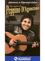 Peppino D'Agostino - Adventures In Fingerstyle Guitar - Peppino D'Agostino - Video Cassette