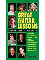 Great Guitar Lessons - Fingerstyle Techniques - Video Cassette