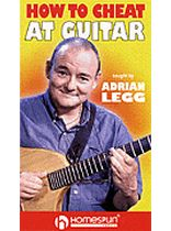 Adrian Legg - Adrian Legg - How To Cheat At Guitar - Video Cassette