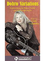 Cindy Cashdollar - Dobro? Variations - Video Cassette