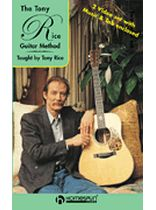 Tony Rice - The Tony Rice Guitar Method - Video Cassette