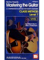 Mastering the Guitar Class Method Level 1 Video Cassette