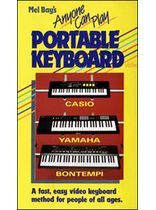 Judd - Anyone Can Play Portable Keyboard Video - Video Cassette