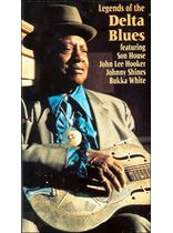 Legends of the Delta Blues Video Video Cassette